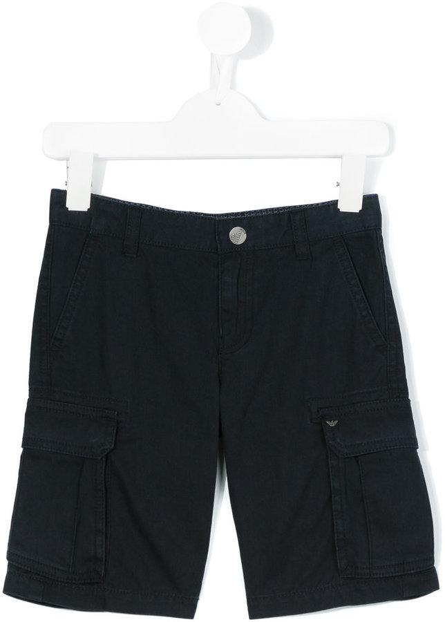 Armani JuniorArmani Junior cargo shorts