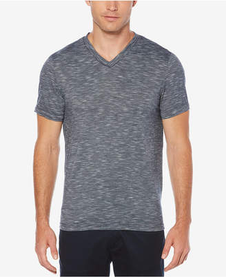 Perry Ellis Men Heathered V-Neck T-Shirt