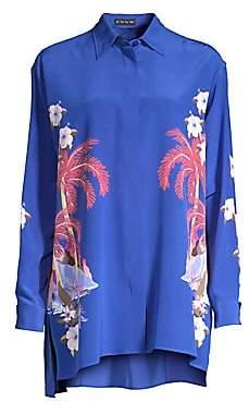 Etro Women's Tropical Floral Tunic Blouse