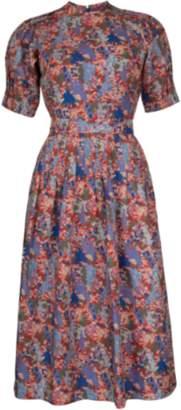 Vintage Berry Dress
