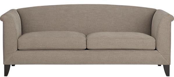 Crate & Barrel Silhouette Sofa