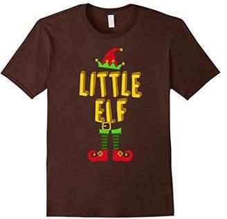 Little Elf Christmas Matching T-Shirt