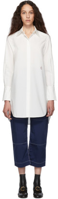Chloé White Embroidered C Shirt