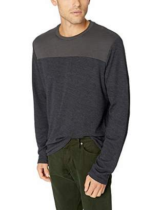 Velvet by Graham & Spencer Andros Men's Two Color Jersey Shirt