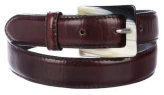 Sonia Rykiel Leather Waist Belt