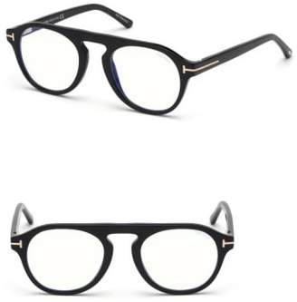 Tom Ford Blueblock 49mm Sunglasses with Clip-On Lens