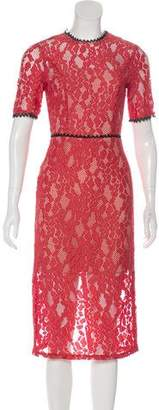 Alexis Lace Midi Dress w/ Tags