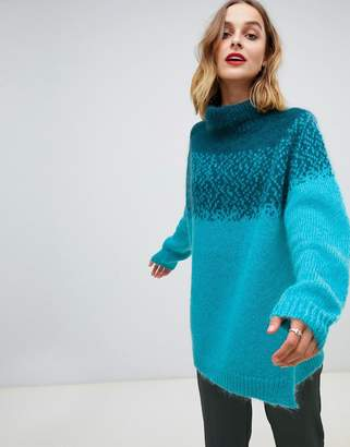 Custom Made Custommade Oversized Mohair Sweater
