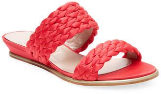 Aperlaï Braided Open-Toe Sandal