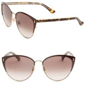 Gucci Tortoise Shell Cat Eye Sunglasses
