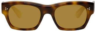Oliver Peoples Tortoiseshell Isba Sunglasses