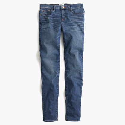 J.Crew Toothpick jean in Lancaster wash