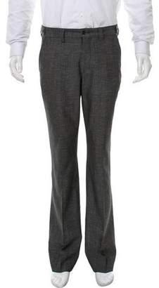 Versace Straight-Leg Wool Pants