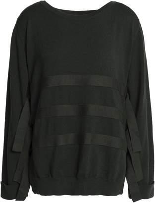 Claudie Pierlot ストライプ ウール セーター
