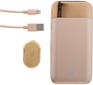 Lax Gadgets Power Bank, Iphone Cable, & Grip Ring