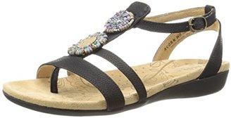 ACORN Women's Samoset T-Strap Sandal $60 thestylecure.com