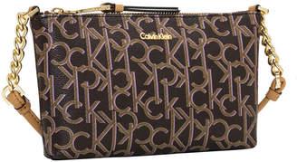 Calvin Klein Hudson Zip Top Crossbody Bag