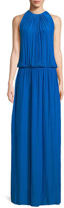 Ramy Brook Shirred Maxi Dress