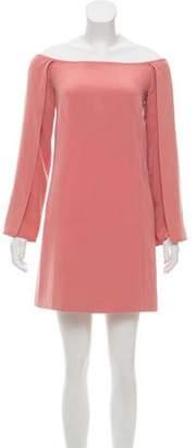 Kaufman Franco KAUFMANFRANCO Off-The-Shoulder Mini Dress
