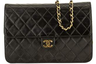 Chanel Black Quilted Lambskin Chain Clutch (3974012)