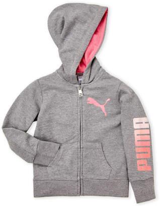 Puma Girls 4-6x) Full Zip Hoodie