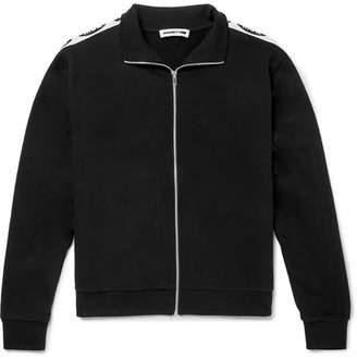 McQ Logo-Jacquard Cotton-Jersey Track Jacket