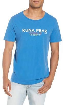 Frame Slim Fit Kuna Peak Graphic T-Shirt