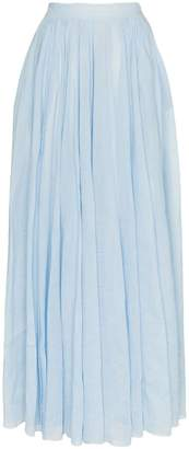 Three Graces arlene high-waisted maxi skirt