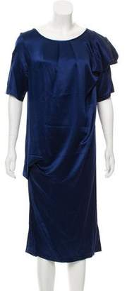 Thakoon Silk Short Sleeve Dress