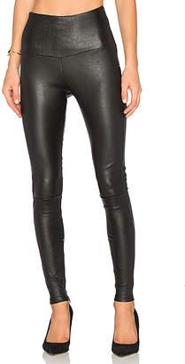 MLML High Waisted Leather Legging
