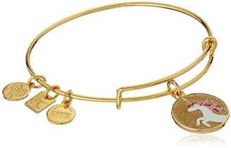 Alex and Ani Unicorn Expandable Gold-Tone Bangle Bracelet
