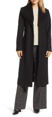 Tahari Alice Wool Maxi Coat
