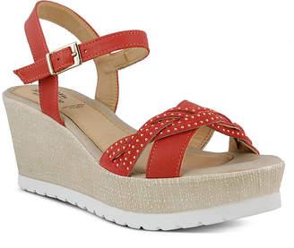 Spring Step Uribia Platform Wedge Sandals