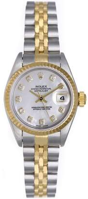 Rolex Datejust 79173 Stainless Steel and 18K Yellow Gold 26mm Womens Watch