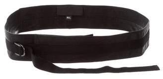 Zero Maria Cornejo Leather Waist Belt w/ Tags