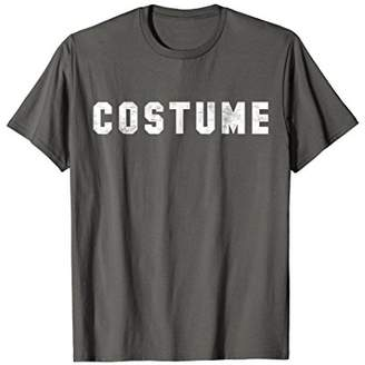 The word Costume | A shirt that says Costume