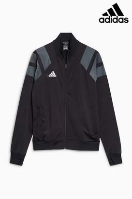 Next Mens adidas Tango Black Track Jacket