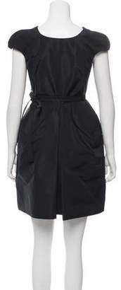 Miu Miu Cap Sleeve Mini Dress
