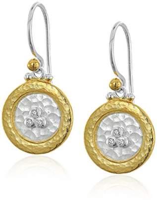 """Gurhan Lush Diamond"""" Sterling Triple Diamond Cluster Drop Earrings"""