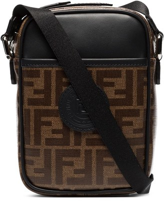 Fendi small FF messenger bag