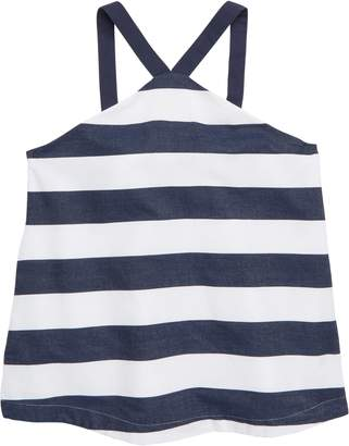 Habitual Girl Harriet Stripe Babydoll Top