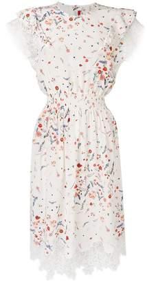 Ermanno Scervino floral flared dress