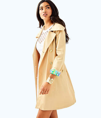 Lilly Pulitzer Womens Qynn Trench Coat