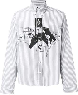 Prada printed shirt