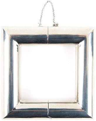 Celine Silver Metal Bracelet