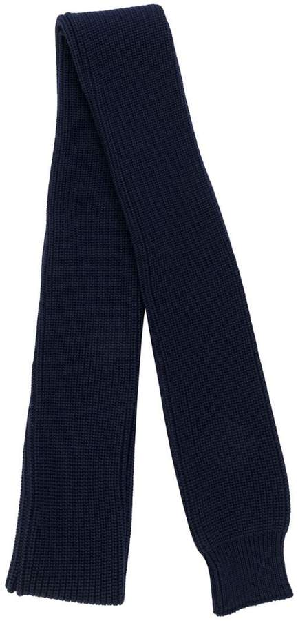 Sunnei ribbed knit scarf