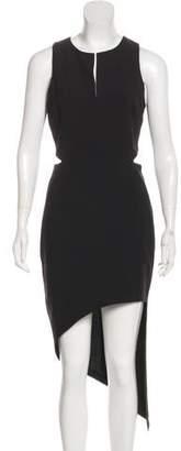 Robert Rodriguez Cutout Midi Dress