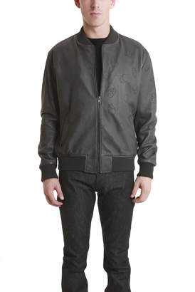 Lucien Pellat-Finet Skull Leather Jacket