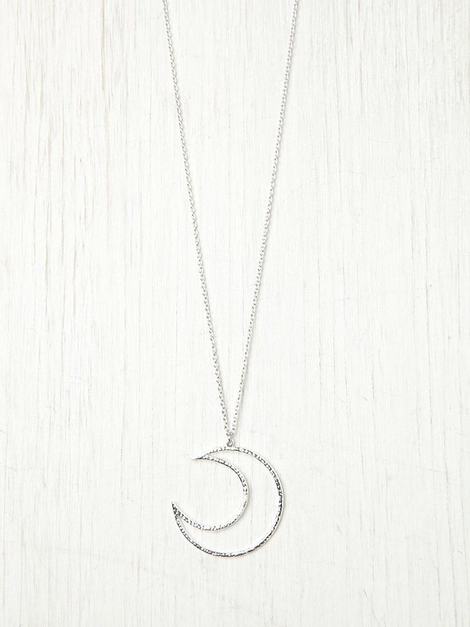 Free People Lune Pendant