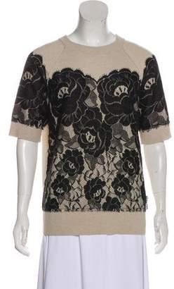 Lanvin Wool & Angora Knit Sweater